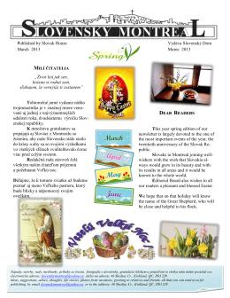 Cislo 01-2013 - SlovakMontreal.com