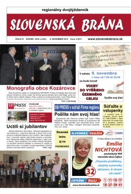 2013-21 - Slovenská brána