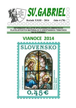 Bulletin Svätý Gabriel 2014/4