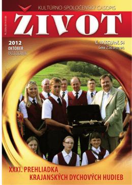 10 pazdziernik 2012[1].pdf - Towarzystwo Słowaków w Polsce