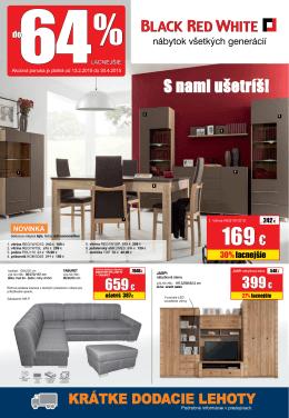 169 € - Nábytok BRW Martin