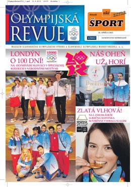 Olympijská revue 1/2012 - Slovenský olympijský výbor