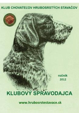 Spravodajca 2012 - hrubosrstestavace.sk