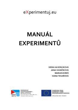 Hana Tesařová - eXperimentuj