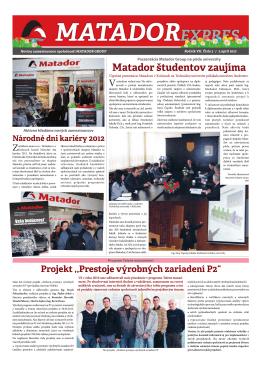 matador expres 03-2012.cdr - MATADOR Industries