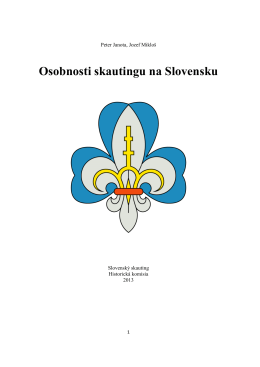 Osobnosti skautingu na Slovensku