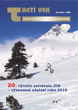 osobitné číslo 6 - Jednota dôchodcov na Slovensku