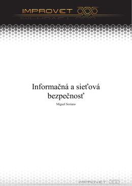 Informačná a sieťová bezpečnosť