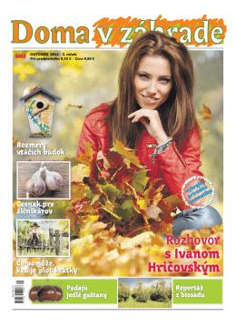 Október 2014 - Doma v zahrade
