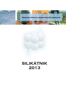 Silikátnik 2013 - Slovenská Silikátová Spoločnosť