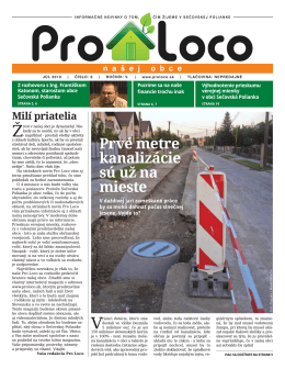Noviny júl 2010