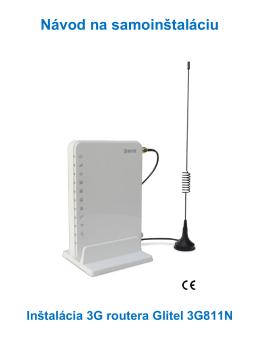 Inštalácia DSL pripojenia a DSL modemu Glitel GT