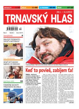 Stiahnite si Trnavský hlas 4/2010 vo formáte PDF