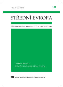 stáhnout pdf soubor - Střední Evropa