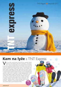Kam na lyže s TNT Express