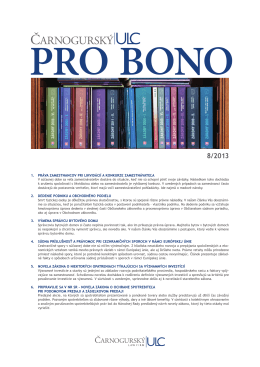 na stiahnutie vo formáte PDF nájdete v sekcii PRO BONO.