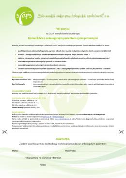 Pozvánka na stiahnutie PDF
