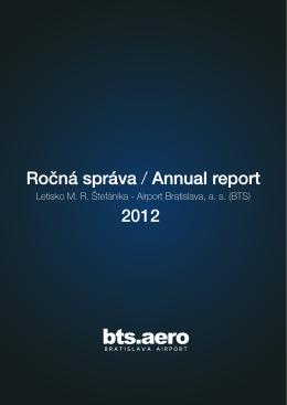 Ročná správa / Annual report 2012