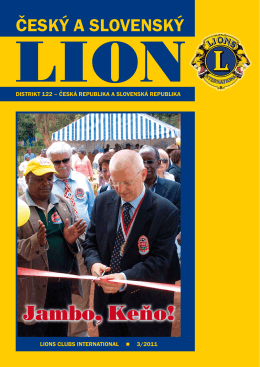 LION 3/2011 - Lions Clubs International / Distrikt 122
