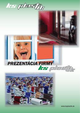 PREZENTÁCIA FIRMY