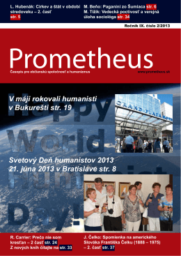 Prometheus 2/2013 Stiahnite si (pdf)