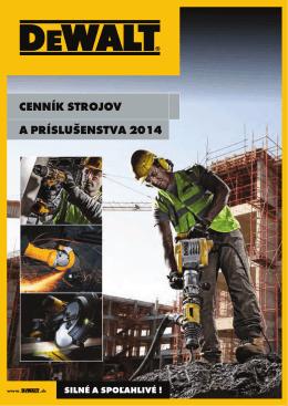 Cenník - DEWALT 2014 - BB