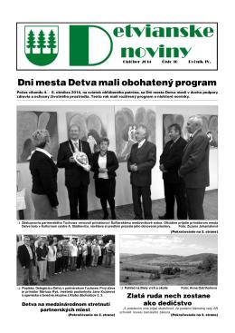 Detvianske noviny 10/2014