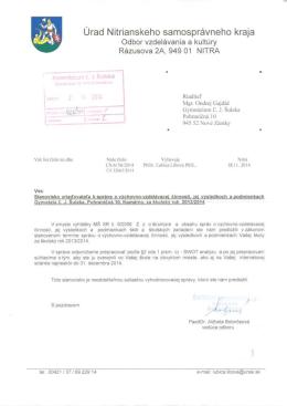(PDF, 1.71MB) - Gymnázium Ľudovíta Jaroslava Šuleka
