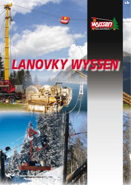 LANOVKY WYSSEN - Wyssen Seilbahnen AG