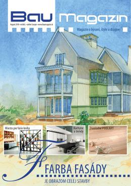 FARBA FASÁDY - DESIGN magazín