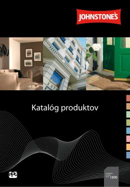 Katalógu produktov