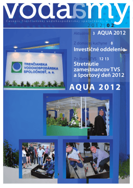 Voda a my - Trenčianska vodohospodárska spoločnosť as