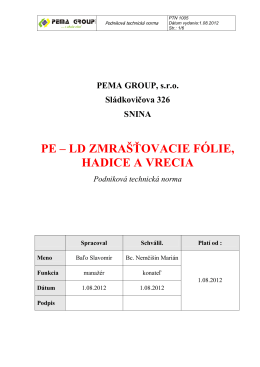 PTN 1005 Zmršťovacie - PEMA – kopie