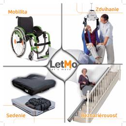 Mobilita Zdvíhanie Sedenie Bezbariérovosť