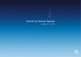 Cenník O2 Partner Špeciál