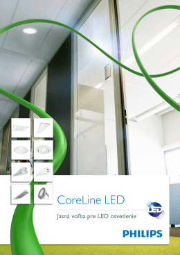 CoreLine LED - Philips Lighting