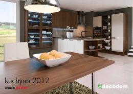 kuchyne 2012 - PANAMA KUCHYNE