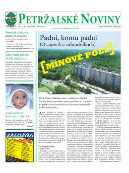 parkovanie - Petržalské Noviny