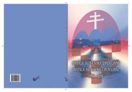 matica slovačka lipovljani (1996