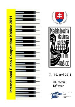 Bulletin 2011 (.pdf) - ZUŠ Márie Hemerkovej