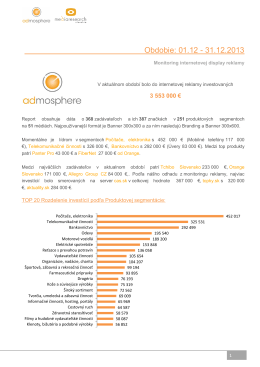 Internetova reklama 12 2013