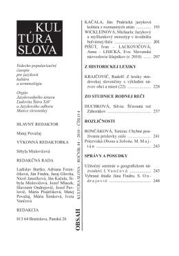 Slovenské názvoslovie lišajníkov