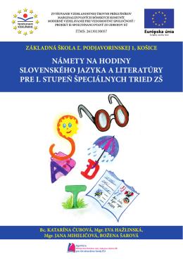 ZS_Podjavo - Základná škola Ľ. Podjavorinskej 1, Košice