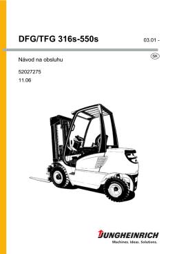 DFG/TFG 316s-550s