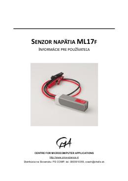 SENZOR NAPÄTIA ML17F