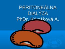 Peritoneálna dialýza 2010 (súbor: pd2010.pdf)
