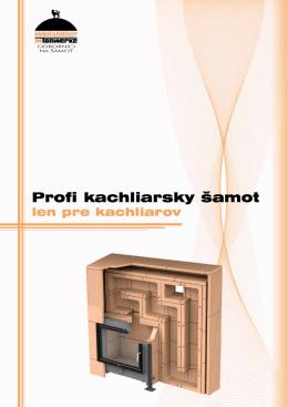 Profi kachliarsky šamot