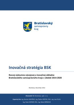 Inovačná stratégia BSK 2014-2020