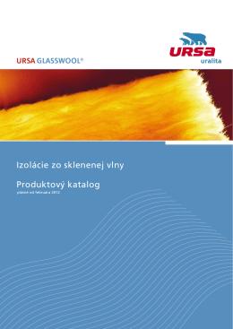URSA GW produktový katalóg