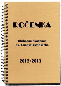 formát PDF - Obchodná akadémia sv. Tomáša Akvinského